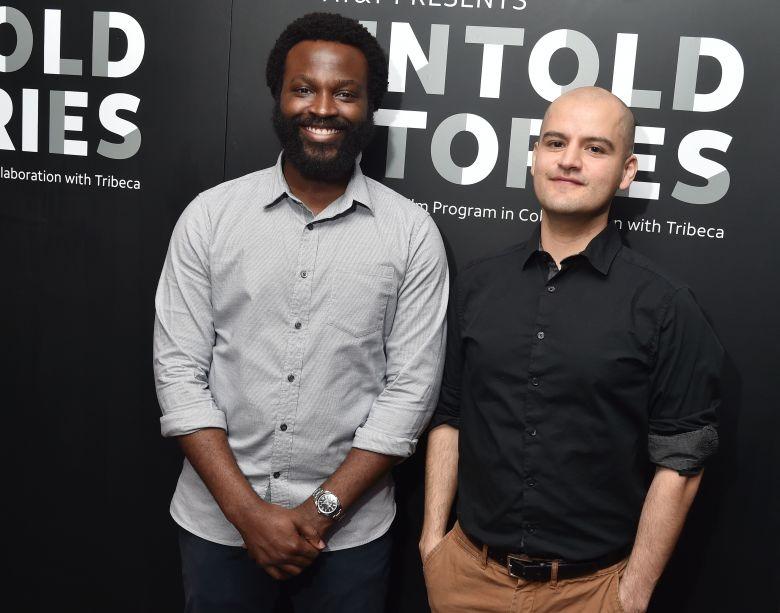 Faraday Okoro, Oscar HernandezUntold Stories Film Program, Tribeca Film Festival, New York, USA - 11 Apr 2018