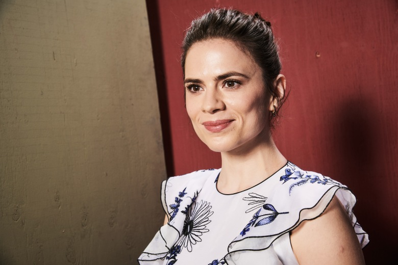 Hayley AtwellThe Contenders Emmys presented by Deadline Hollywood, Portrait Studio, Los Angeles, USA - 15 Apr 2018