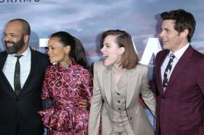 Evan Rachel Wood, Thandie Newton, James MarsdenWestworld TV show premiere Arrivals Los Angeles USA 16 Apr 2018