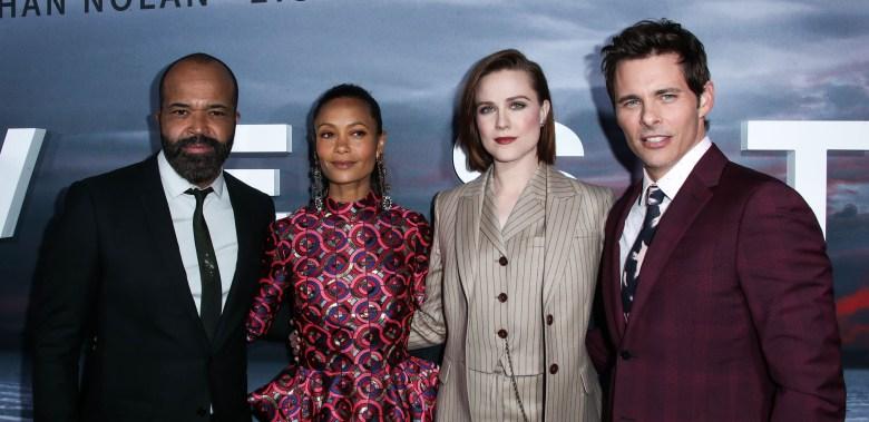 Jeffrey Wright, Thandie Newton, Evan Rachel Wood, James Marsden'Westworld' TV show premiere, Arrivals, Los Angeles, USA - 16 Apr 2018