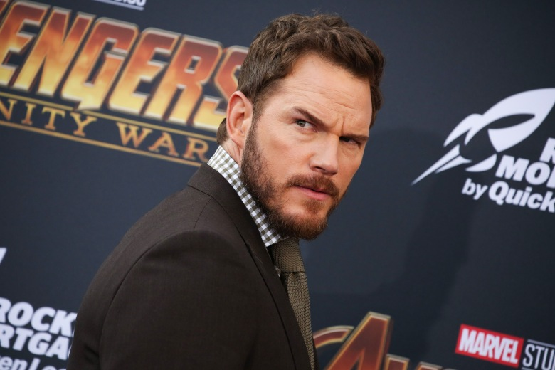 Chris Pratt'Avengers: Infinity War' film premiere, Arrivals, Los Angeles, USA - 23 Apr 2018
