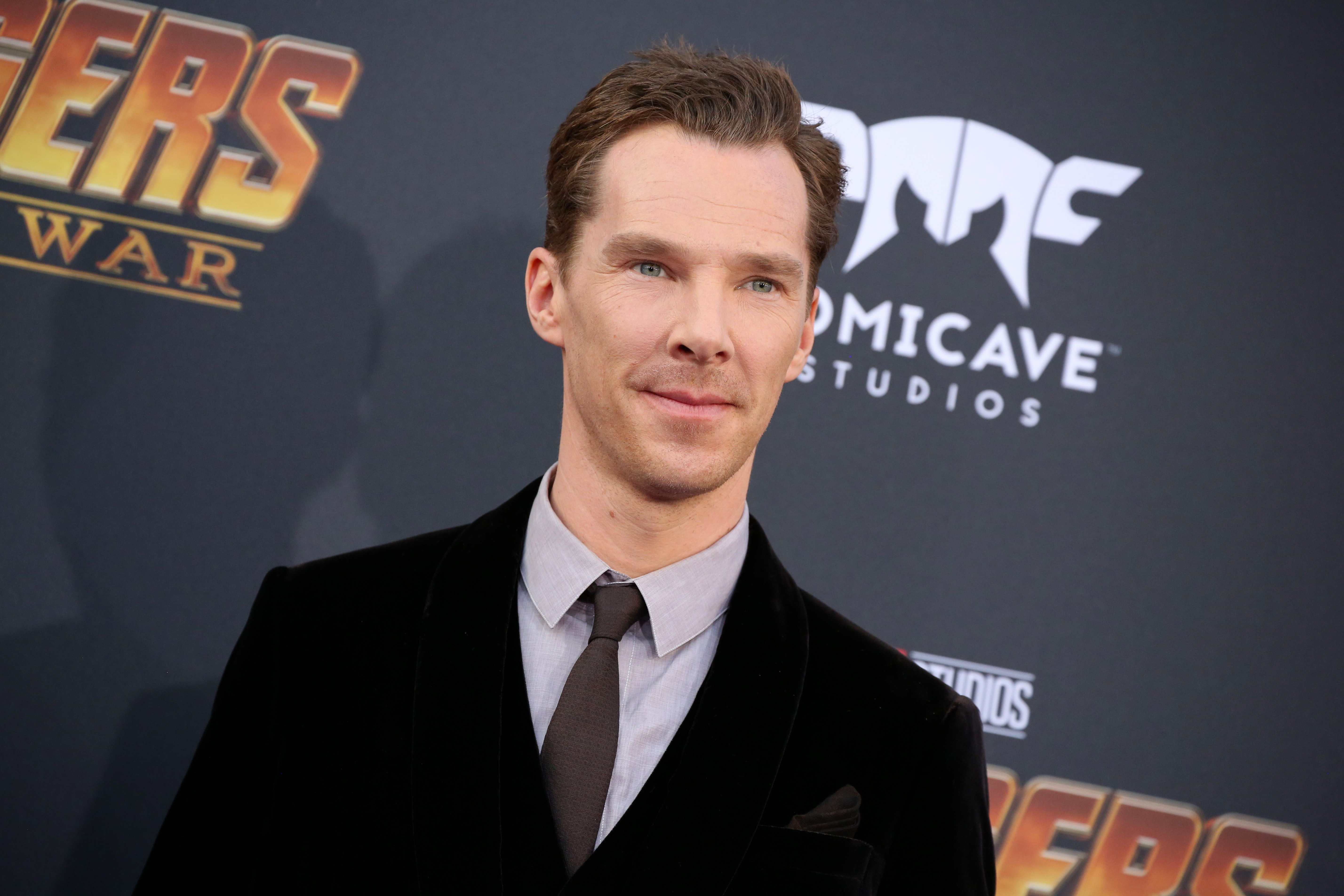 'Avengers' Star Benedict Cumberbatch Calls For Equal Pay For Female Co-Stars