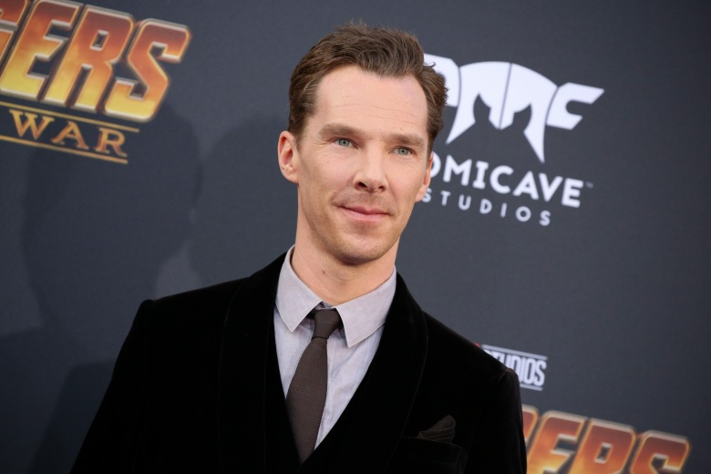 Benedict Cumberbatch'Avengers: Infinity War' film premiere, Arrivals, Los Angeles, USA - 23 Apr 2018