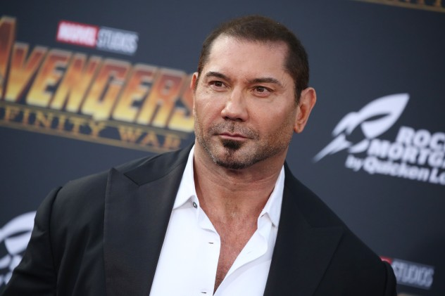 Dave Bautista'Avengers: Infinity War' film premiere,