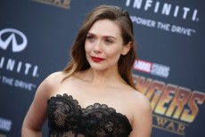 Elizabeth Olsen'Avengers: Infinity War' film premiere, Arrivals, Los Angeles, USA - 23 Apr 2018