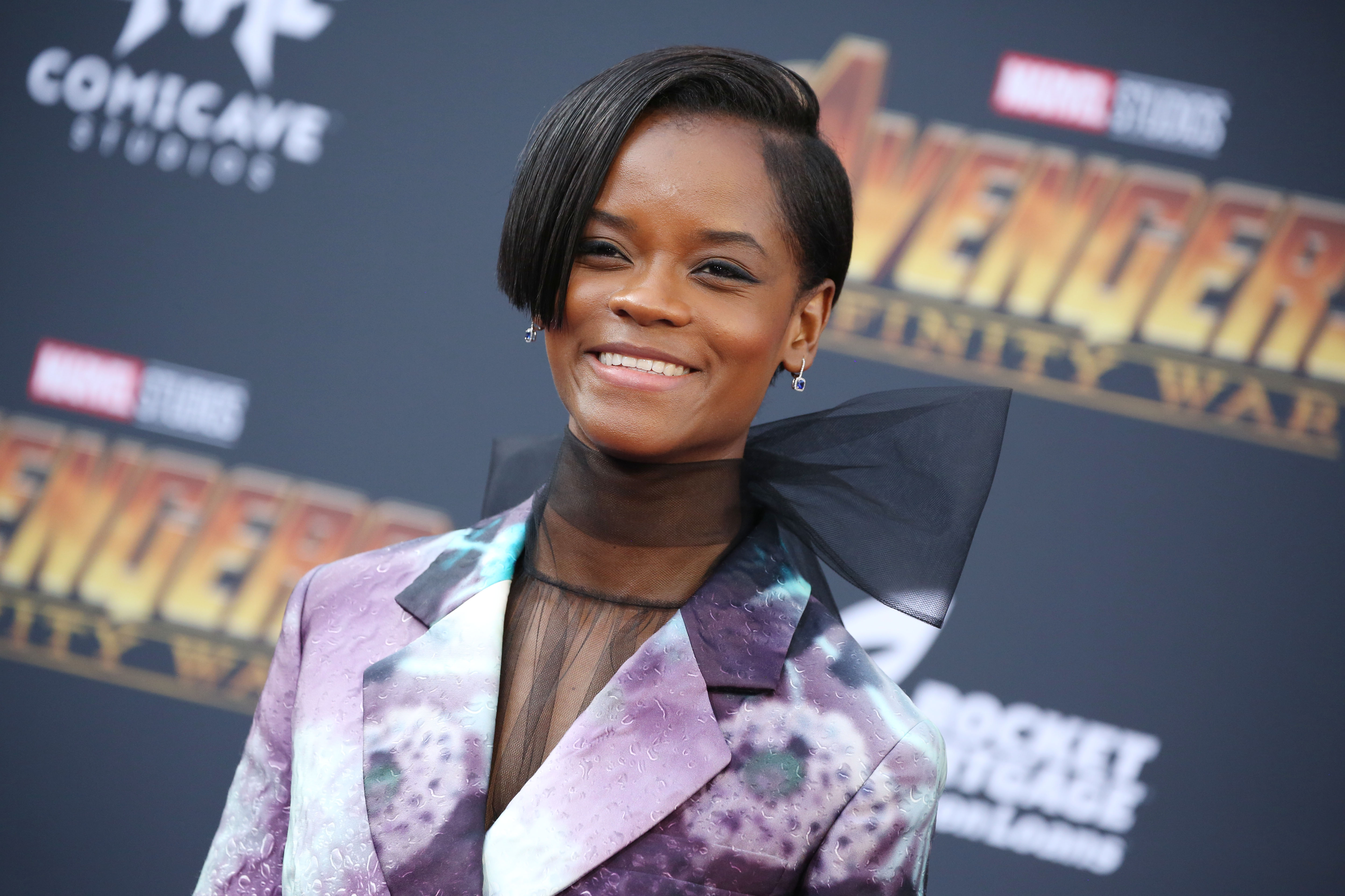 Letitia Wright'Avengers: Infinity War' film premiere, Arrivals, Los Angeles, USA - 23 Apr 2018