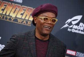 Samuel L Jackson'Avengers: Infinity War' film premiere, Arrivals, Los Angeles, USA - 23 Apr 2018