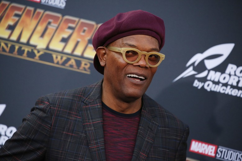 Samuel L Jackson'Avengers: Infinity War' film premiere, Arrivals, Los Angeles, USA - 23 Apr 2018
