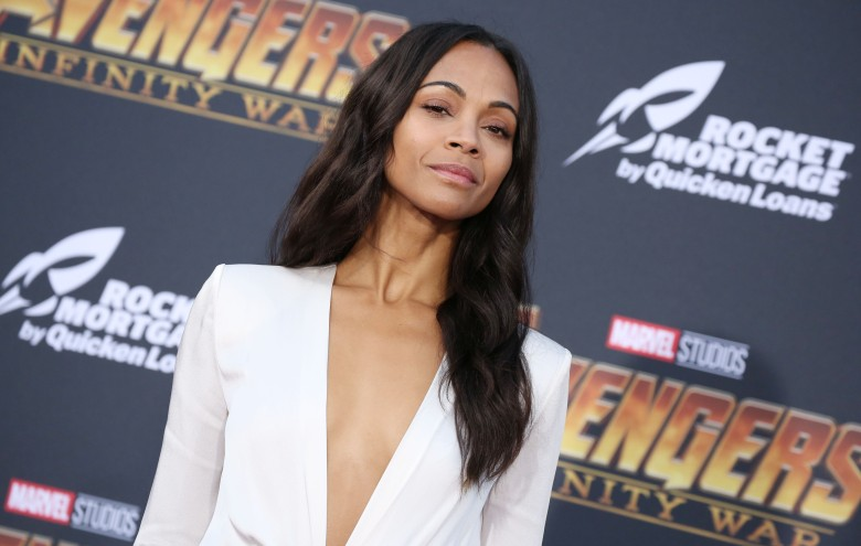 Zoe Saldana'Avengers: Infinity War' film premiere, Arrivals, Los Angeles, USA - 23 Apr 2018