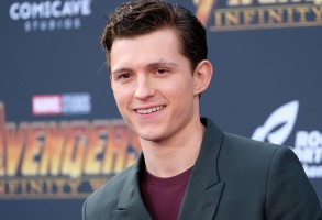 Tom HollandAvengers Infinity War film premiere Arrivals Los Angeles USA 23 Apr 2018