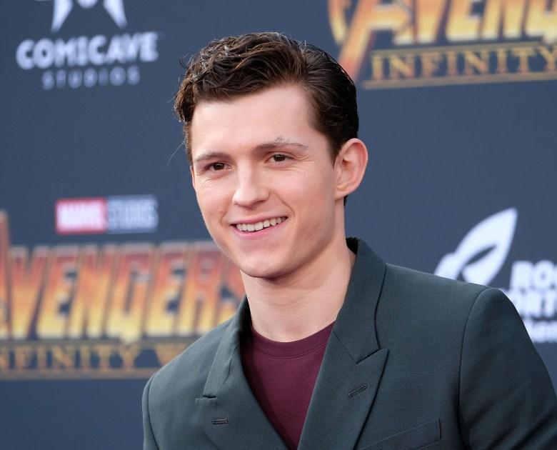 Tom HollandAvengers Infinity War film premiere Arrivals Los Angeles USA 23 Apr 2018