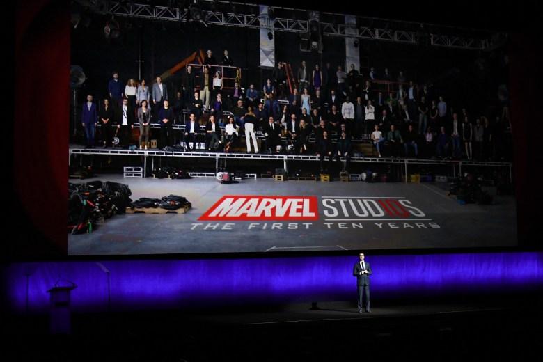 Dave HollisThe Walt Disney Studios Presentation, CinemaCon, Las Vegas, USA - 24 Apr 2018