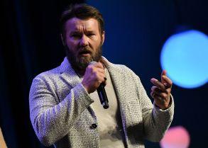 Joel EdgertonFocus Features presentation, CinemaCon, Las Vegas, USA - 25 Apr 2018