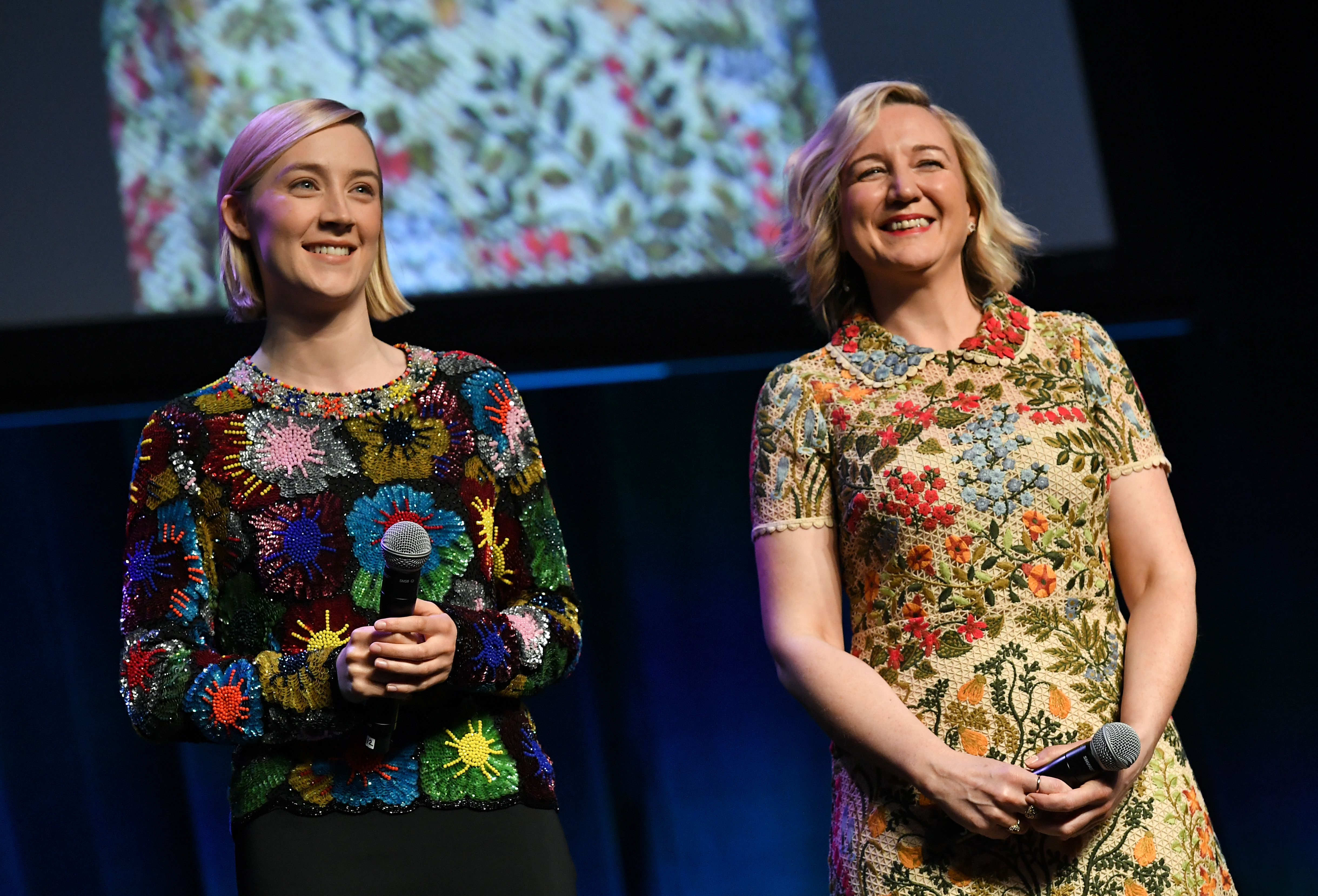 Josie Rourke and Saoirse RonanFocus Features presentation, CinemaCon, Las Vegas, USA - 25 Apr 2018