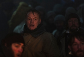 Jared Harris as Francis Crozier, Ian Hart as Thomas Blanky - The Terror _ Season 1, Episode 6 - Photo Credit: Aidan Monaghan/AMC