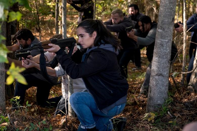 Alanna Masterson as Tara Chambler - The Walking Dead _ Season 8, Episode 16 - Photo Credit: Gene Page / AMC