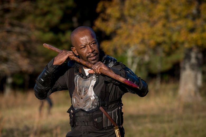 Lennie James as Morgan Jones - The Walking Dead _ Season 8, Episode 16 - Photo Credit: Gene Page/AMC