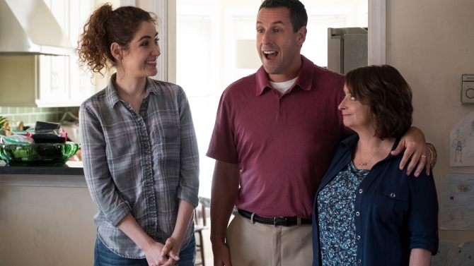 The Week Of' Review: Adam Sandler's Netflix Comedy is Bland