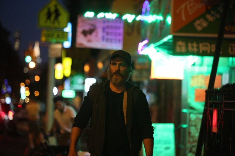 You Were Never Really Here, Joaquin Phoenix in Lynne Ramsay's film