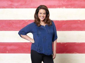 "AMERICAN HOUSEWIFE - ABC's ""American Housewife"" stars Katy Mixon as Katie Otto. (ABC/Bob D'Amico)"