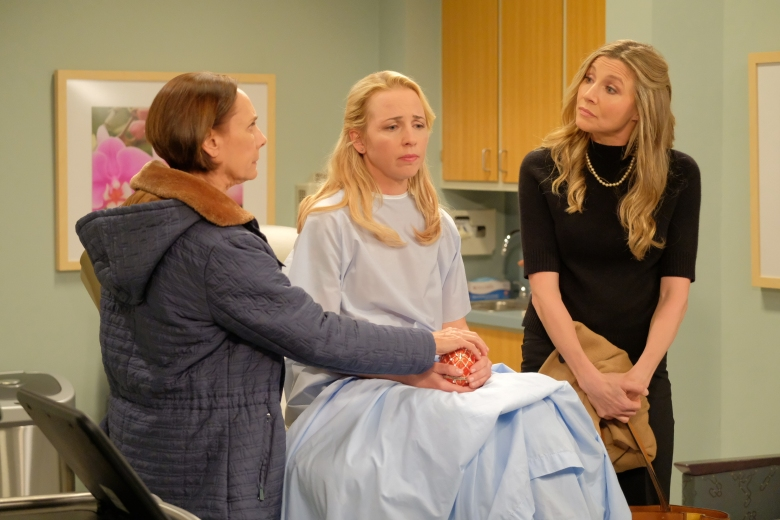 "Laurie Metcalf, Lecy Goranson, and Sarah Chalke, ""Roseanne"""
