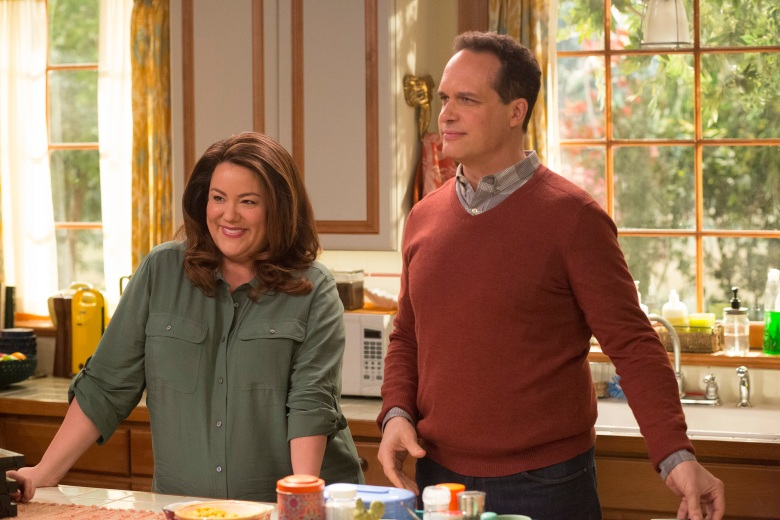"AMERICAN HOUSEWIFE - ""The Inheritance"" - After the passing of a family friend, the Ottos all react differently to the allotment of the deceased's inheritance, on an all-new episode of ""American Housewife,"" airing WEDNESDAY, APRIL 4 (9:31-10:00 p.m. EDT), on The ABC Television Network. (ABC/Michael Ansell)KATY MIXON, DIEDRICH BADER"
