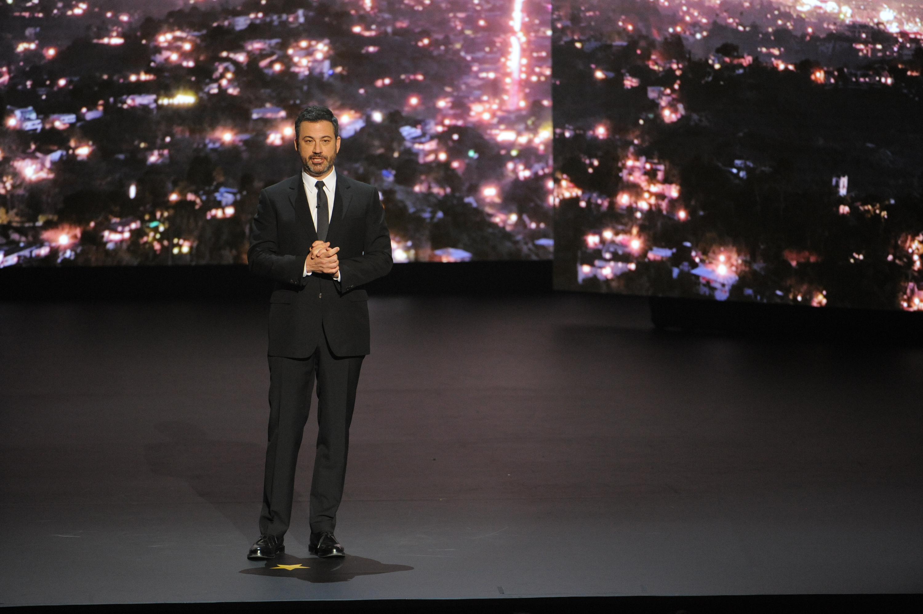 Jimmy Kimmel Roasts ABC, and Departing Producer Shonda Rhimes ...