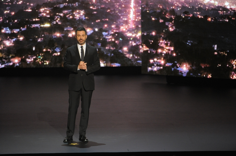 ABC/FREEFORM UPFRONT - May 15, 2018 ABC and Freeform present their new lineups for the 2018-2019 season to the advertising and media communities at Lincoln Center in New York City. (ABC/Pawel Kaminski)JIMMY KIMMEL