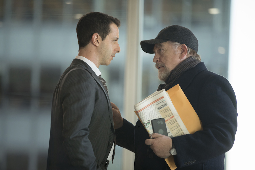 Succession Season 1 Jeremy Strong Brian Cox HBO