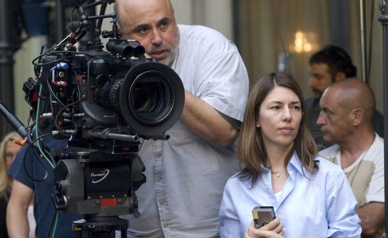 "Harris Savides and Sofia Coppola shooting ""Somewhere"""