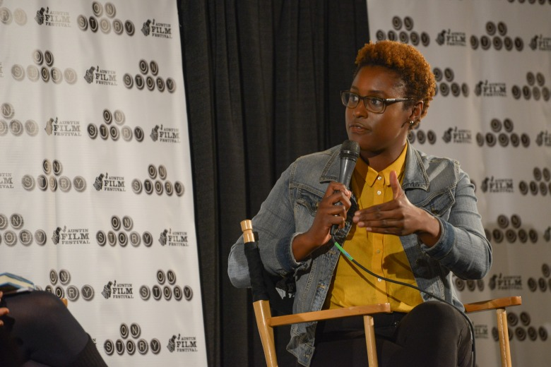 Issa Rae talks writing in Austin