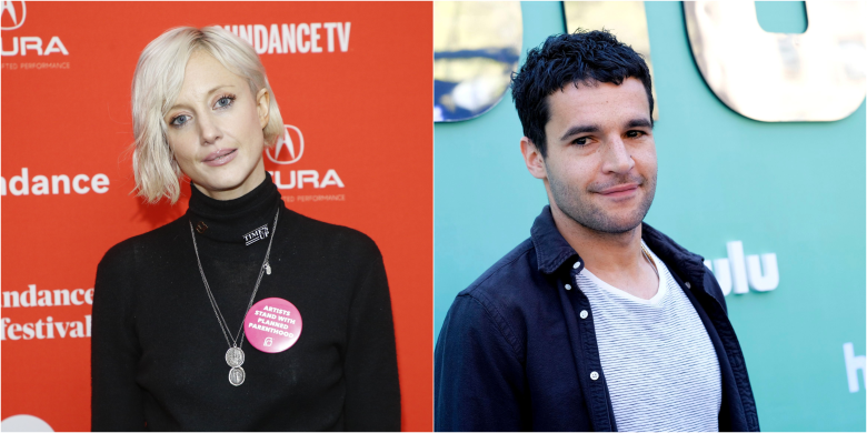 Andrea Riseborough Christopher Abbott