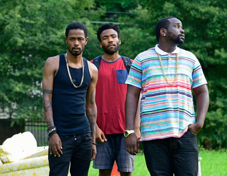 """Lakeith Stanfield, Donald Glover, and Brian Tyree Henry, """"Atlanta"""""""