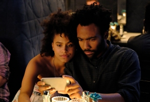 "Zazie Beetz and Donald Glover, ""Atlanta"""