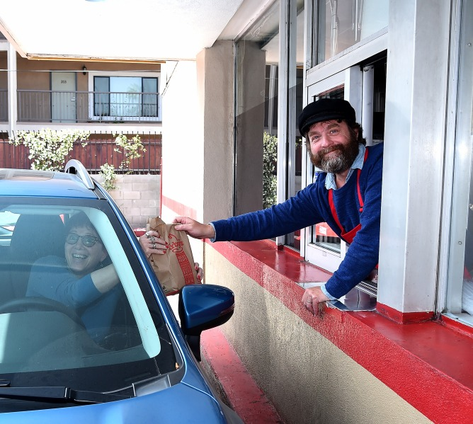 """Zach Galifianakis, """"Baskets"""" FYC event at Arby's"""