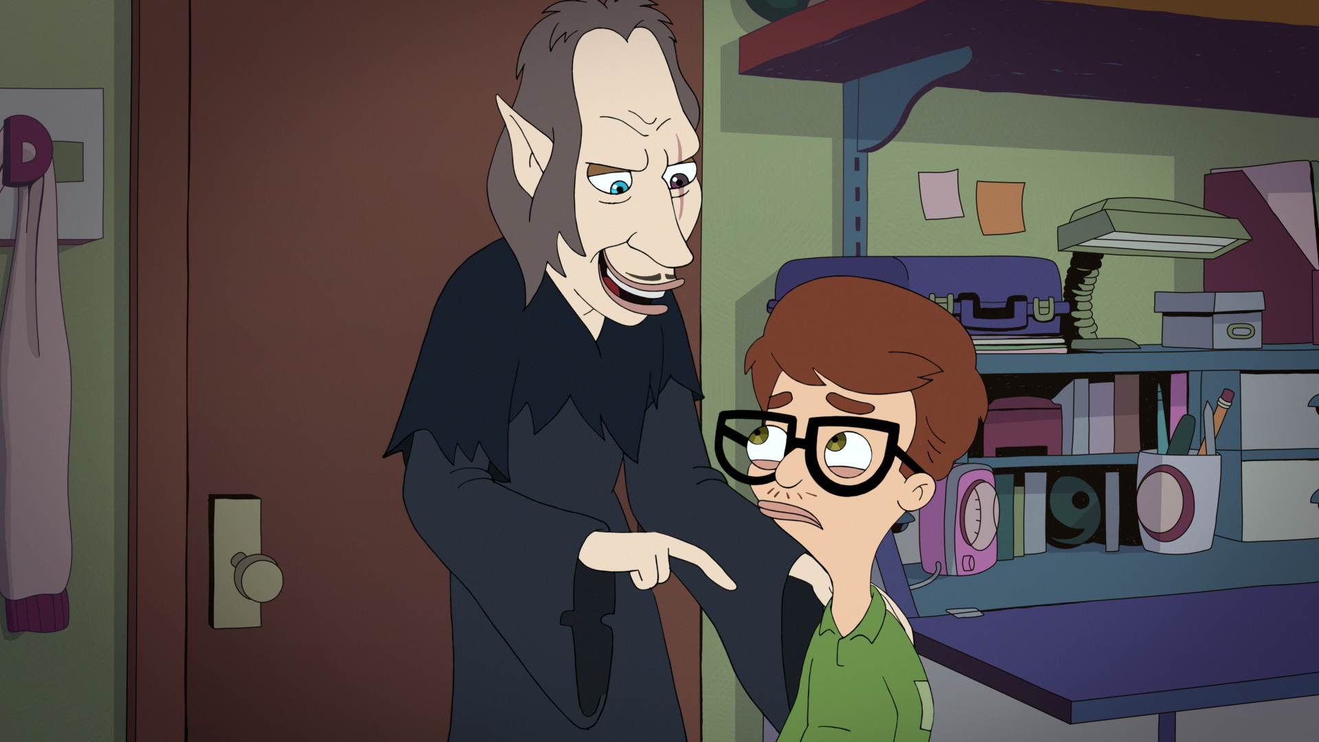 Big Mouth Season 2 Shame Wizard