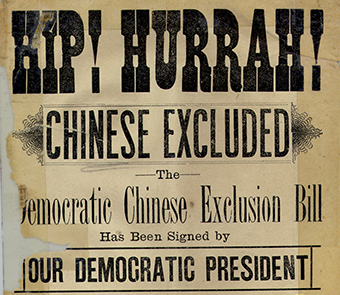 """The Chinese Exclusion Act"""