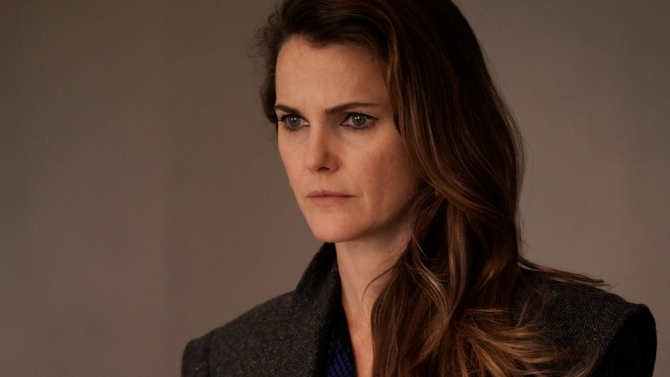 """THE AMERICANS -- """"Jennings, Elizabeth"""" -- Season 6, Episode 9 (Airs Wednesday, May 23, 10:00 pm/ep) -- Pictured: Keri Russell as Elizabeth Jennings. CR: Patrick Harbron /FX"""