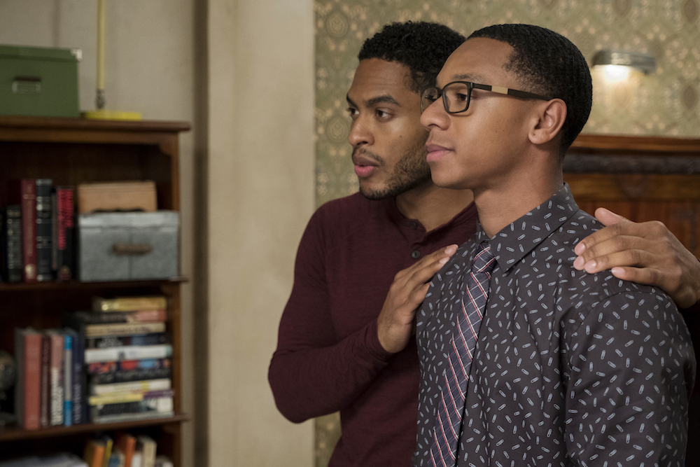 Dear White People Season 2 Brandon P. Bell DeRon Horton