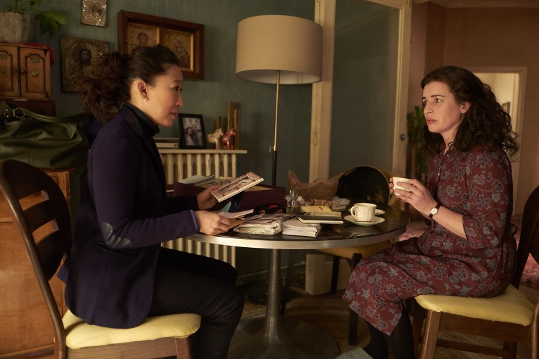 "Sandra Oh and Susan Lynch, ""Killing Eve"""