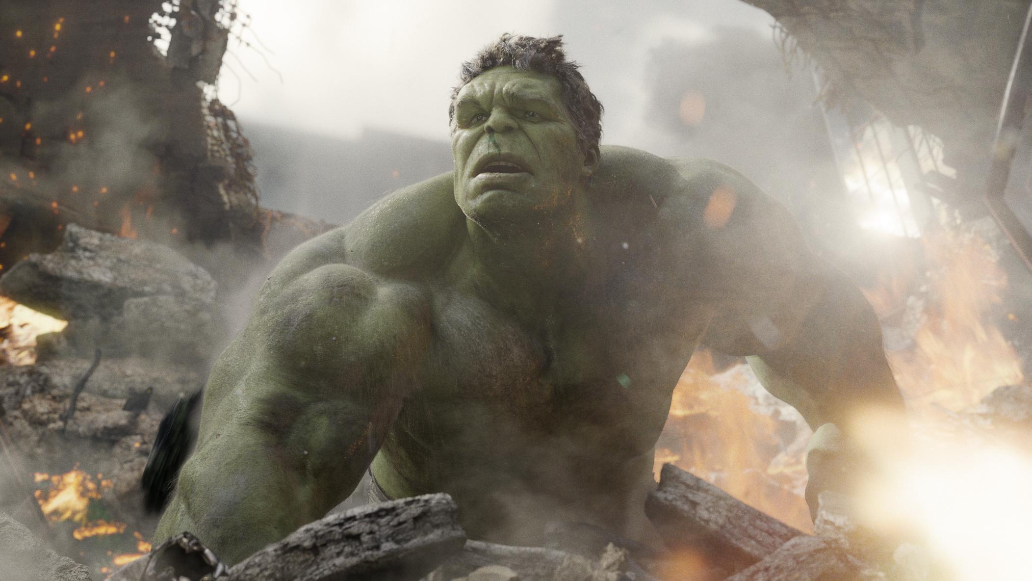 """""""Marvel's The Avengers"""" Hulk (Mark Ruffalo) © 2011 MVLFFLLC. TM & © 2011 Marvel. All Rights Reserved."""