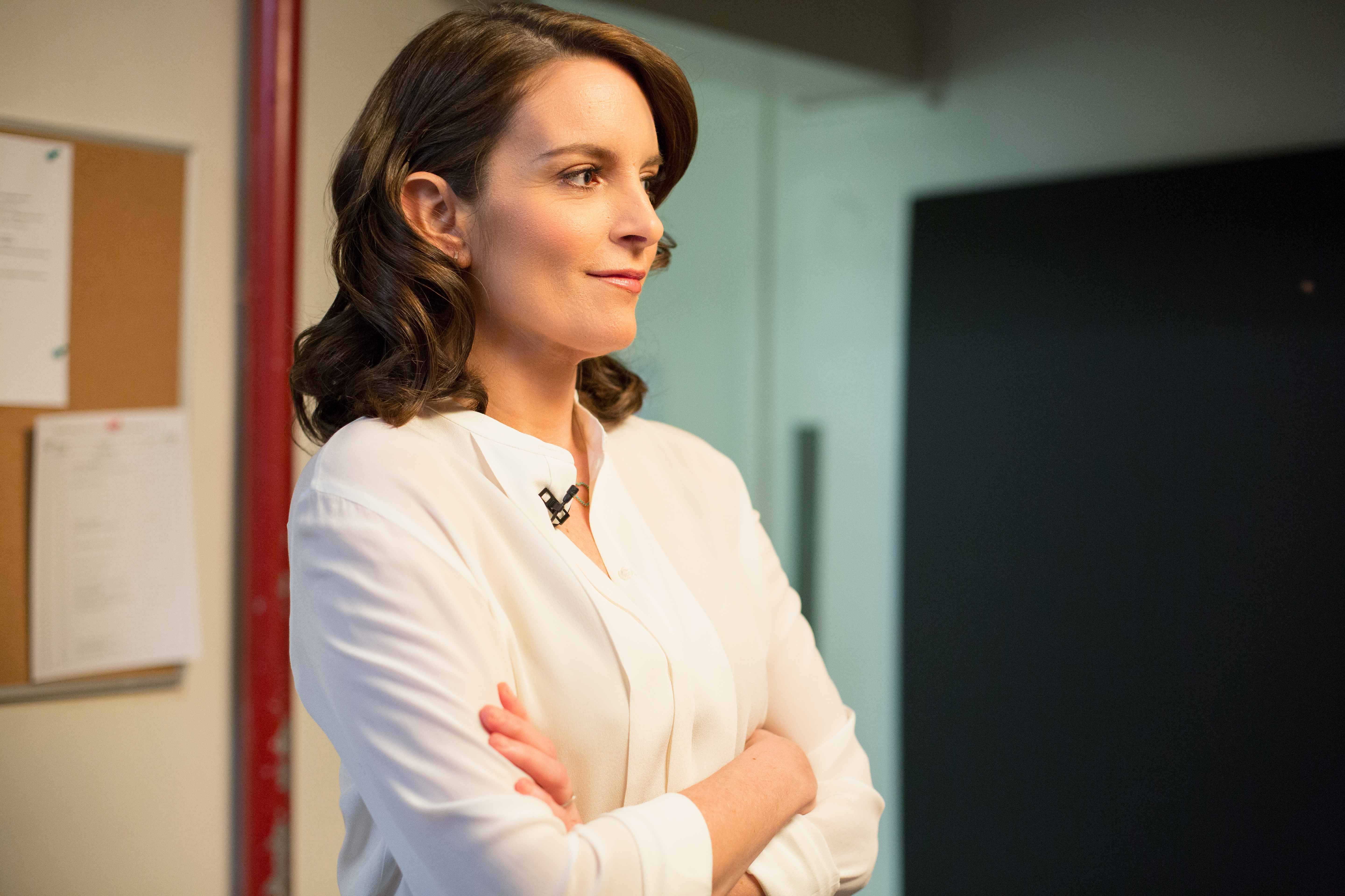 Tina Fey Tears Up Talking About Her Parents With David Letterman