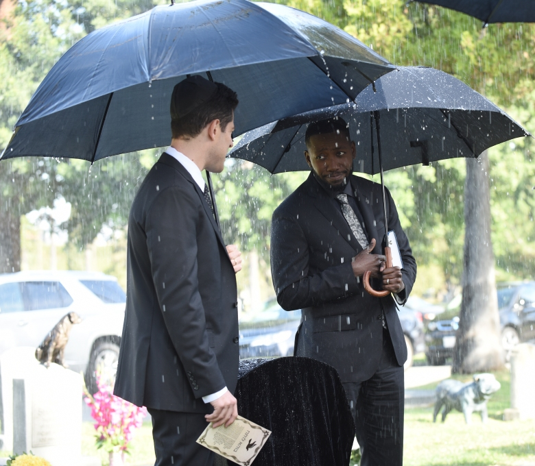 "Max Greenfield and Lamorne Morris, ""New Girl"""