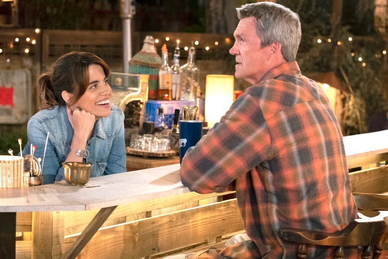 "Natalie Morales and Neil Flynn, ""Abby's"""