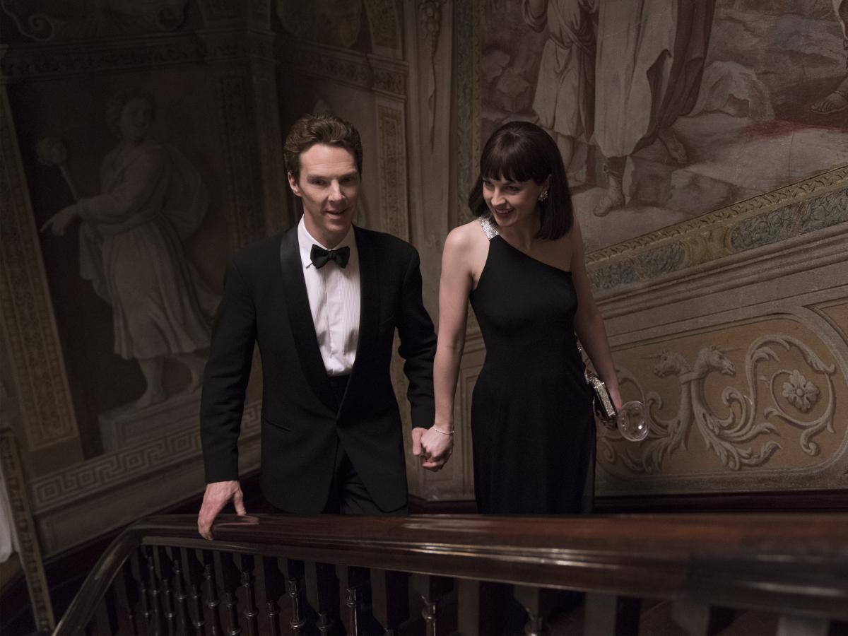 Patrick Melrose Benedict Cumberbatch Jessica Raine Episode 3
