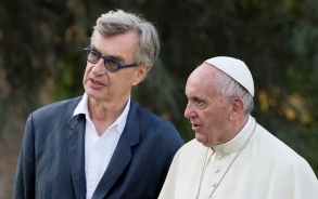 Wim Wenders and Pope Francis