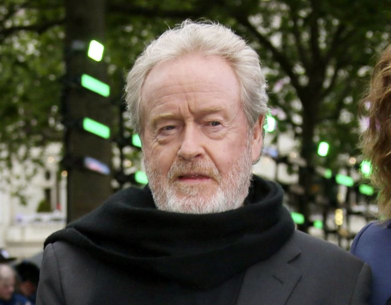 Director Ridley Scott appears at the