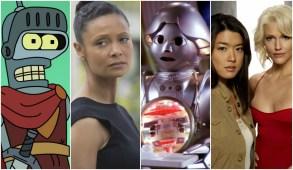"""Futurama,"" ""Westworld,"" ""Buck Rogers in the 25th Century,"" ""Battlestar Galactica,"""