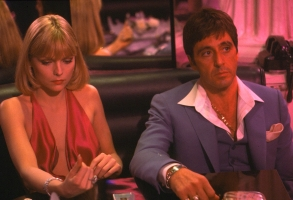 Michelle Pfeiffer Al Pacino Scarface