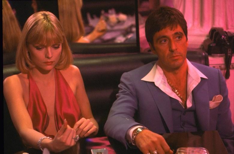 Michelle Pfeiffer Al Pacino Scarface
